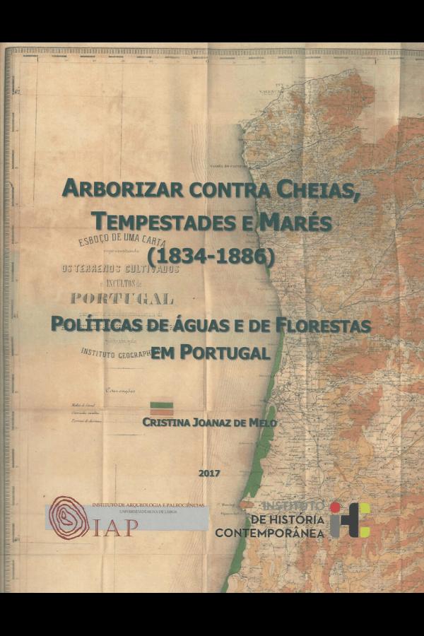 """Capa do livro """"Arborizar contra cheias, tempestades e marés"""", de Cristina Joanaz de Melo"""