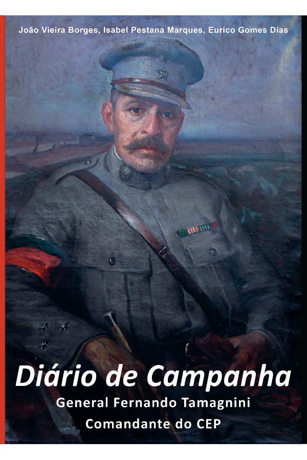 Capa do livro Diário de Campanha do General Fernando Tamagnini