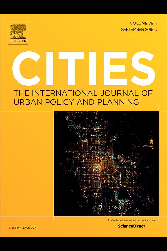 Capa do Volume 79 da revista Cities