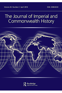 Capa do The Journal of Imperial and Commonwealth History