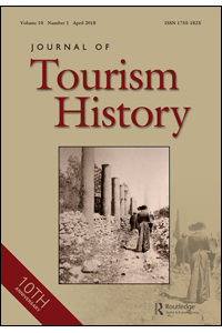 Capa do Journal of Tourism History