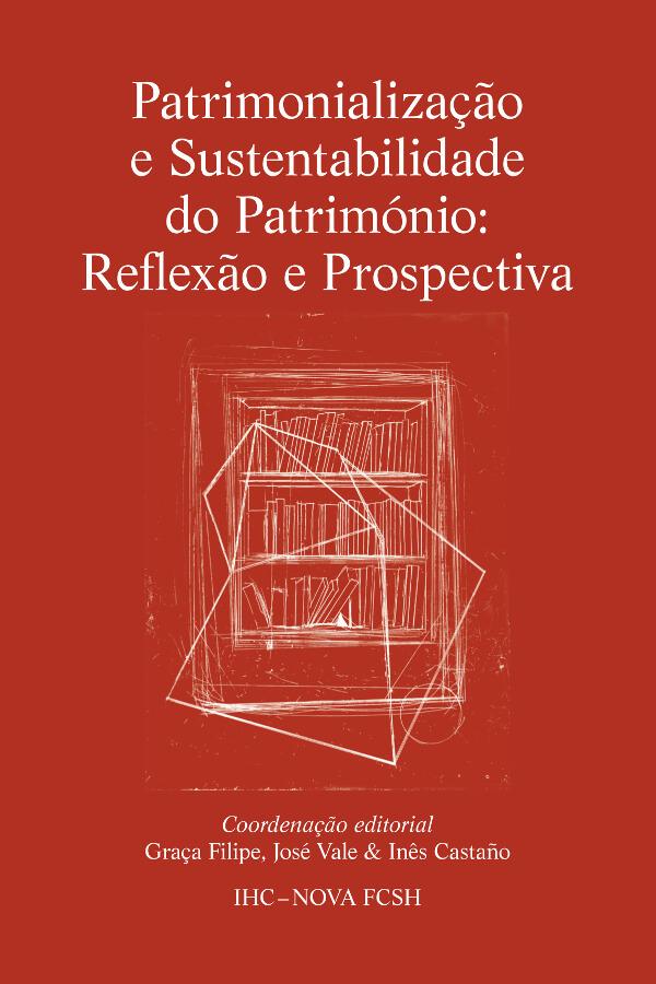 Capa do livro Patrimonialização e Sustentabilidade do Património