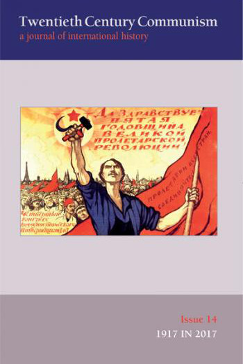 Capa do número 14 da revista Twentieth Century Communism (2018)