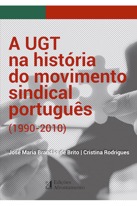 """Capa do livro """"A UGT na história do movimento sindical português"""""""