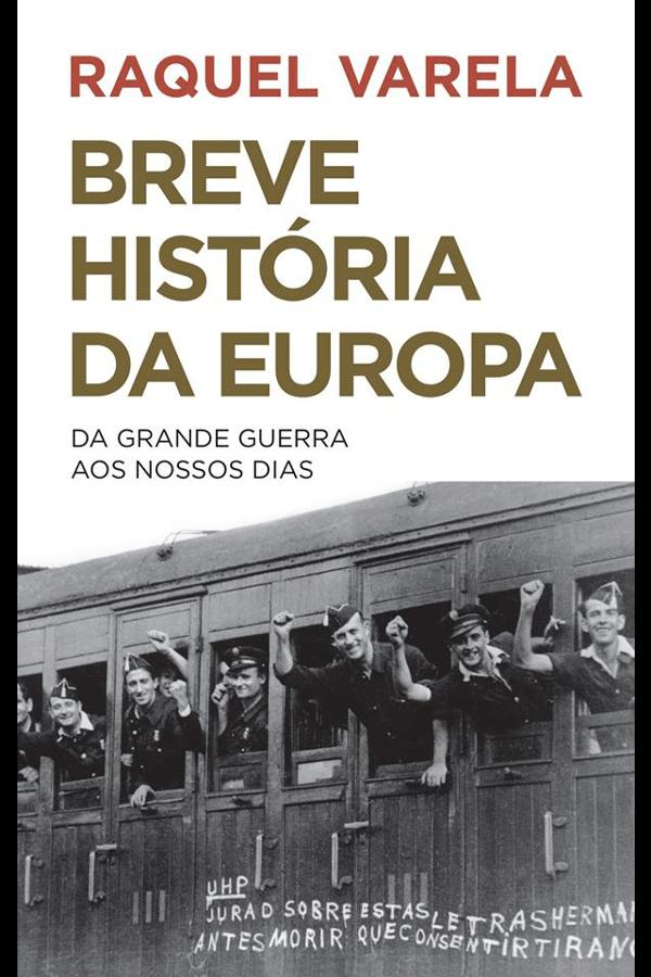 """Capa do livro """"Breve História da Europa"""""""