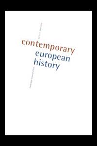 Capa da revista Contemporary European History