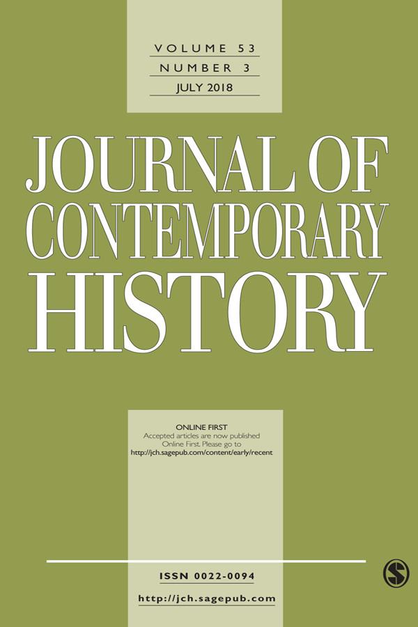 Capa do volume 53 do Journal of Contemporary History