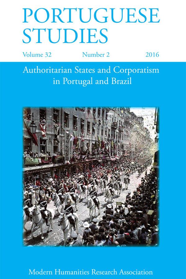 Capa do volume 32 da revista Portuguese Studies
