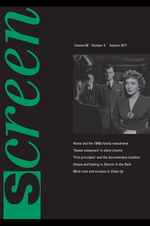 Capa do volume 58 da revista Screen