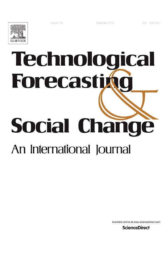 Capa da revista Technological Forecasting and Social Change