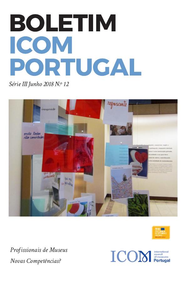 Capa do número 12 do Boletim ICOM Portugal
