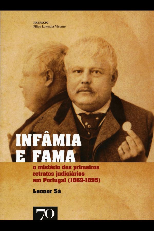 """Capa do livro """"Infâmia e fama"""""""