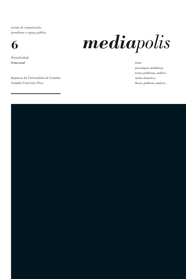 Capa do sexto número da revista Mediapolis