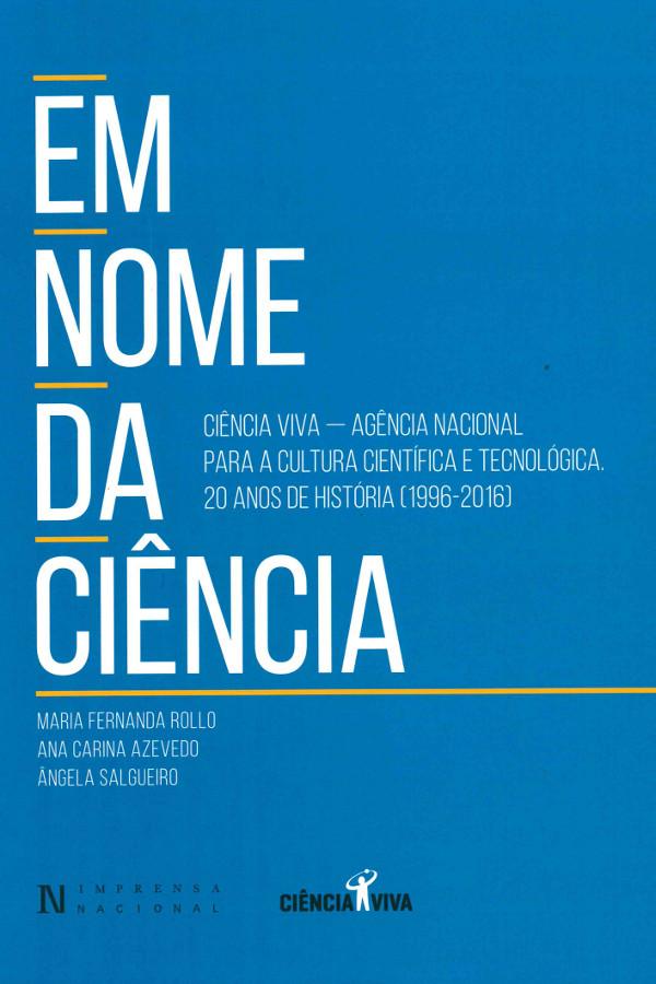 """Capa do livro """"Em Nome da Ciência"""""""