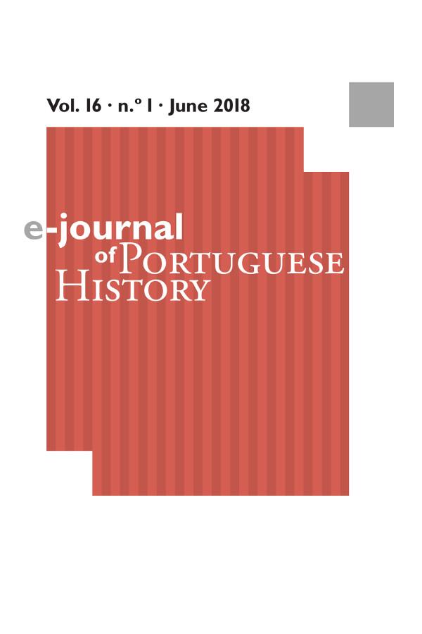 Capa do volume 16 da revista e-Journal of Portuguese History