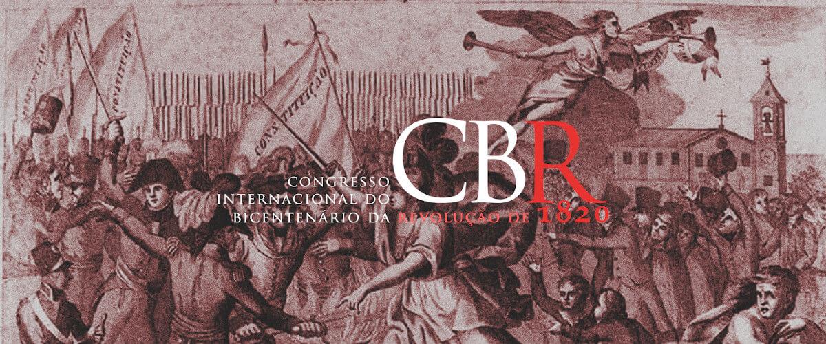 Banner ilustrativo do Congresso Internacional do Bicentenário da Revolução de 1820