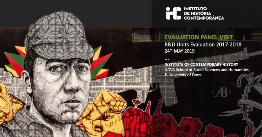 Imagem ilustrativa da apresentação do IHC ao painel de avaliadores da FCT
