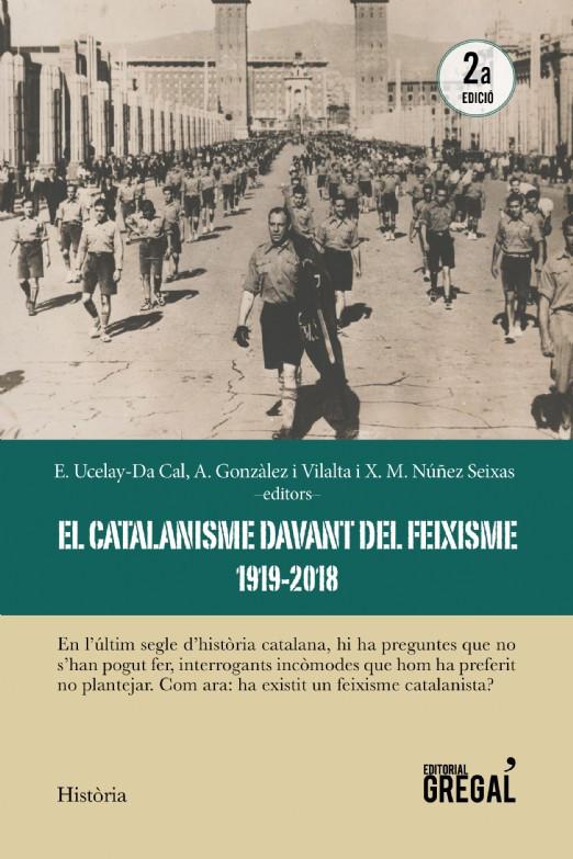 """Capa do livro """"El catalanisme davant del feixisme"""""""
