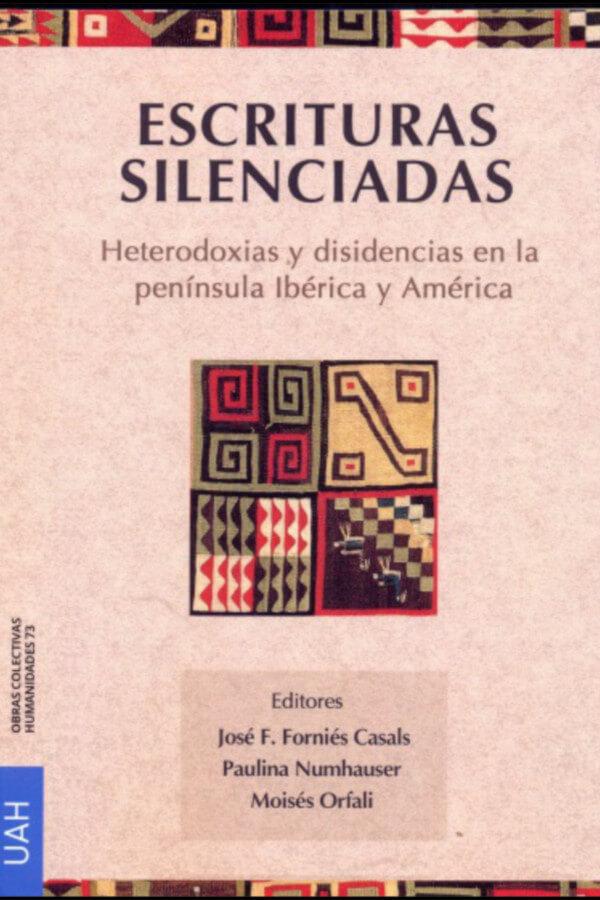 """Capa do livro """"Escrituras Silenciadas"""""""