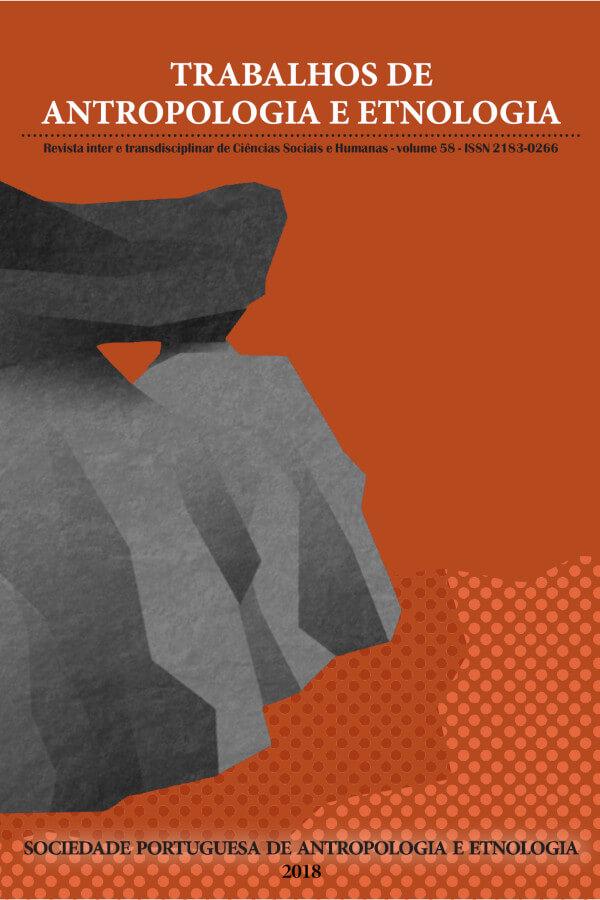 Capa do nº 58 da revista Trabalhos de Antropologia e Etnologia