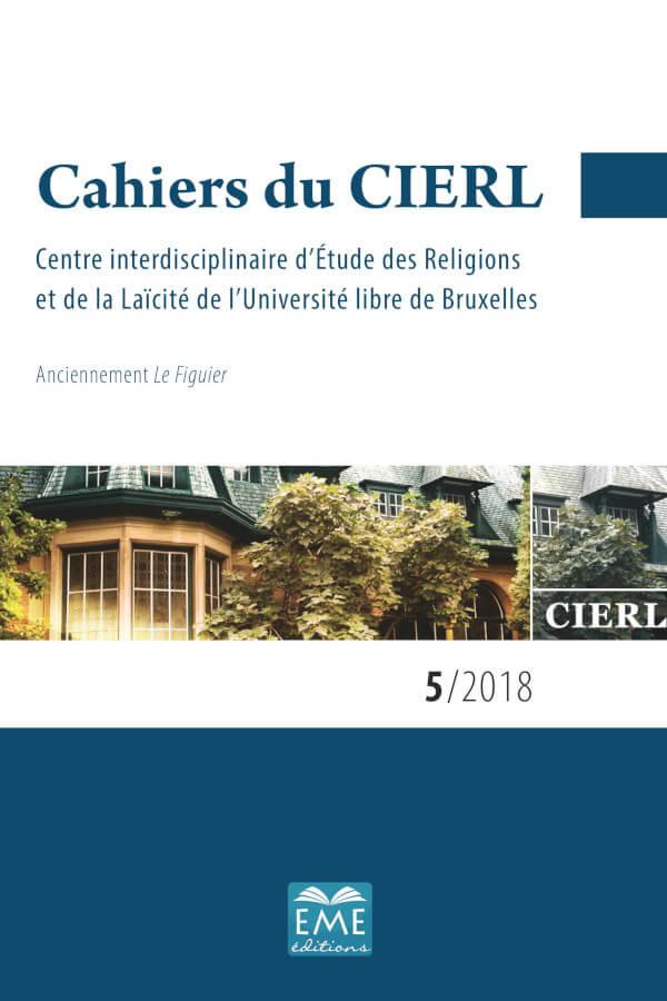 Capa do número 5 dos Cahiers du CIERL