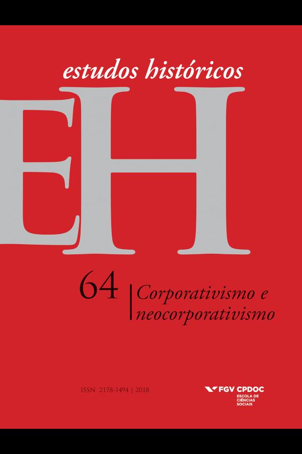 Capa do número 64 da revista Estudos Históricos