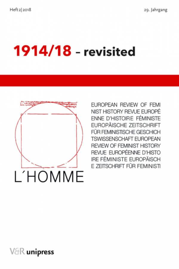 Capa do número 2 do volume 29 da revista L'Homme