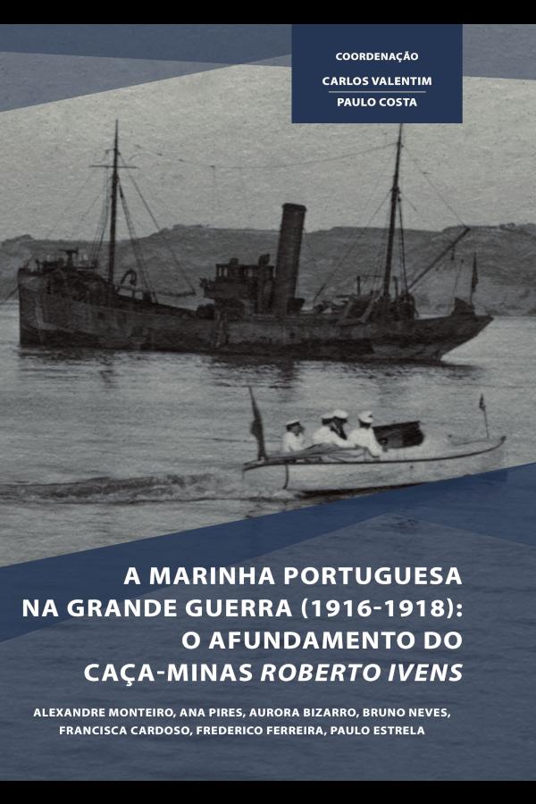 """Capa do livro """"A Marinha Portuguesa na Grande Guerra"""""""