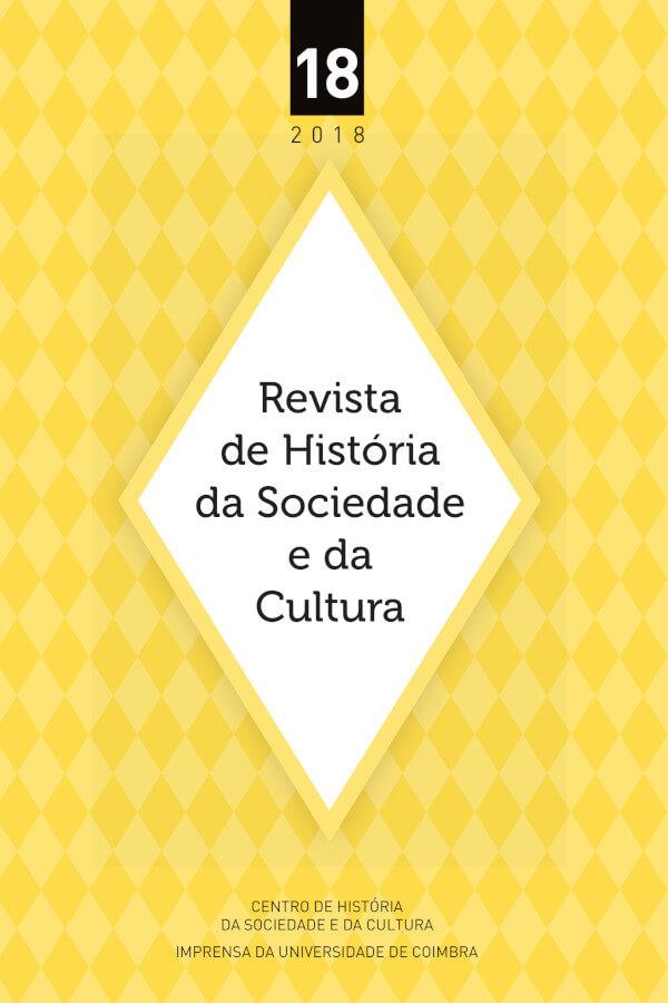 Capa do número 18 da Revista de História da Sociedade e da Cultura