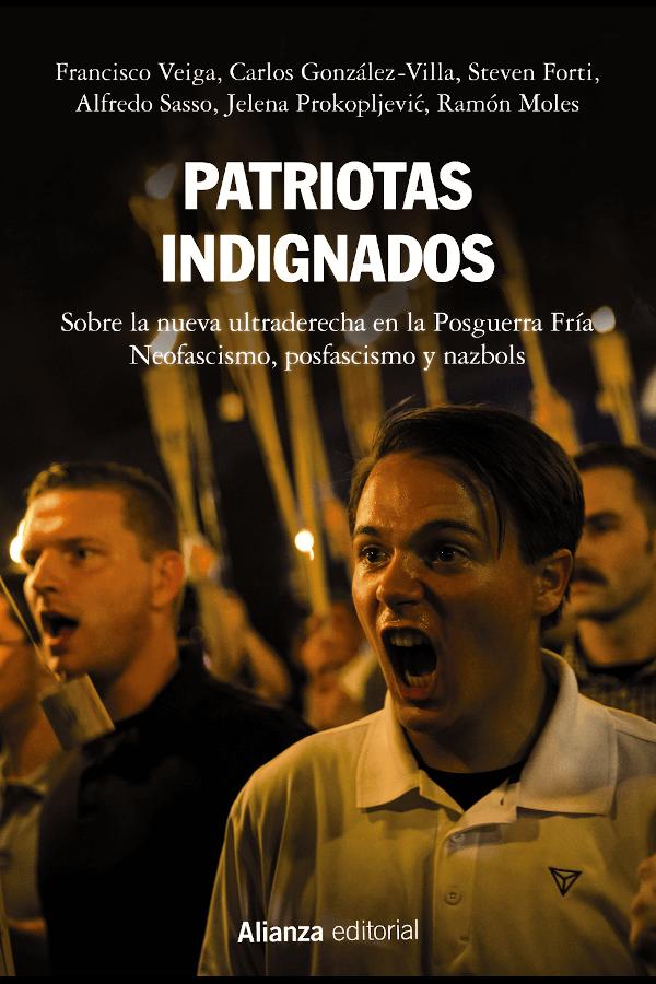 """Capa do livro """"Patriotas Indignados"""""""