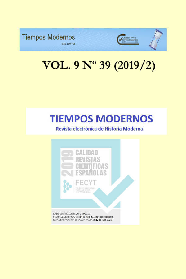 Capa do volume 9 da revista Tiempos Modernos
