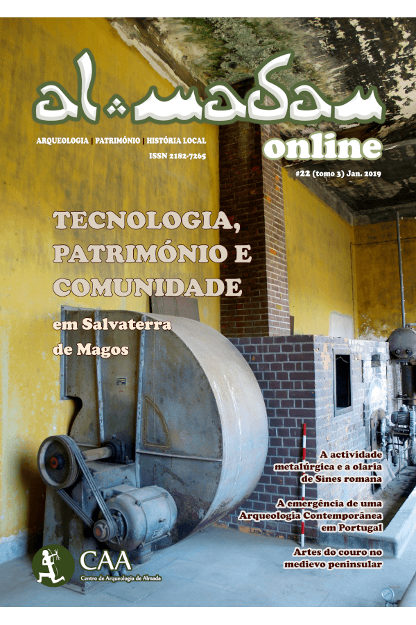 Capa do terceiro tomo do número 22 da revista Al-Madan Online
