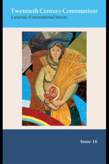 """Capa do número 16 da revista """"Twentieth Century Communism"""""""
