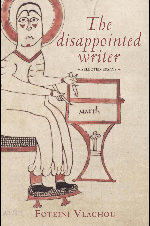 "Capa do livro ""The Disappointed Writer"", de Foteini Vlachou"