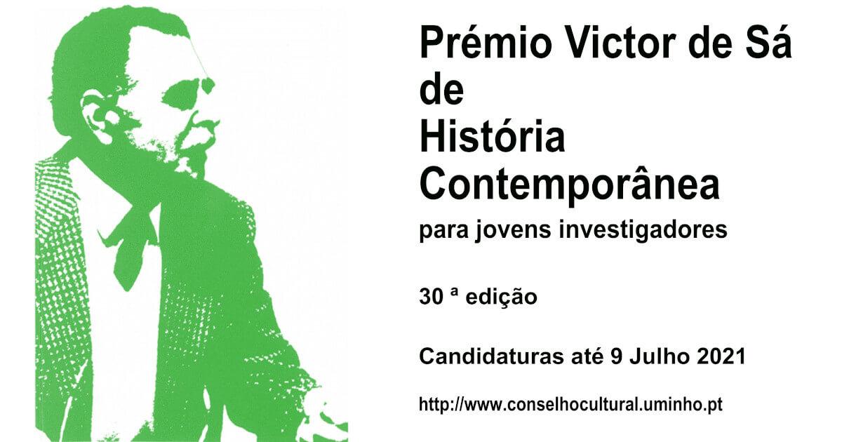 Imagem ilustrativa do Prémio de Victor de Sá de História Contemporânea 2021