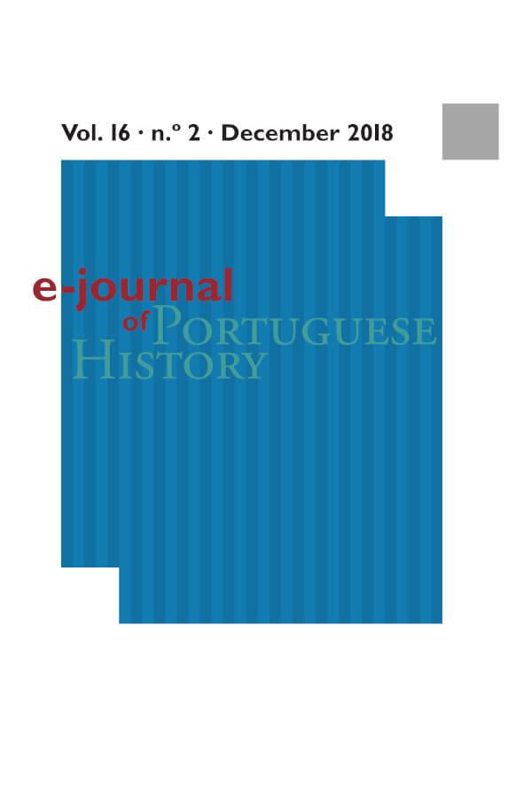 Capa do número dois do volume 16 do e-Journal of Portuguese History