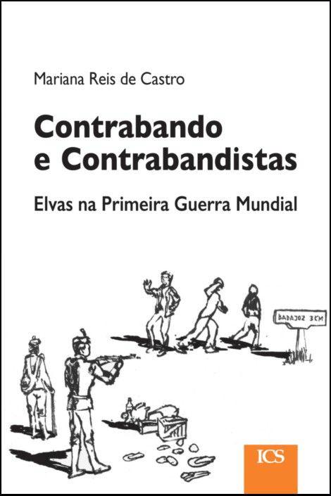 """Capa do livro """"Contrabando e Contrabandistas"""", de Mariana Castro"""
