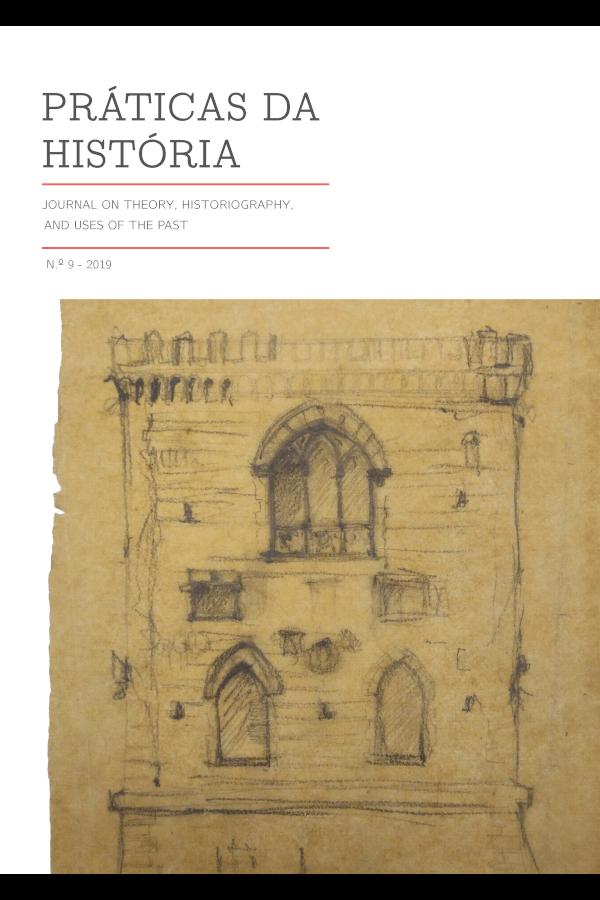 Capa do número 9 da revista Práticas da História