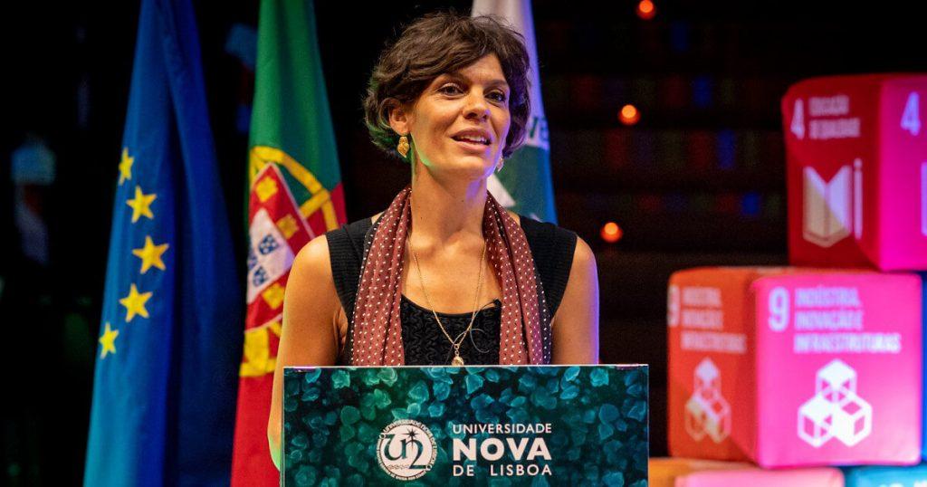 Fotografia de Raquel Varela no NOVA Science Day 2020