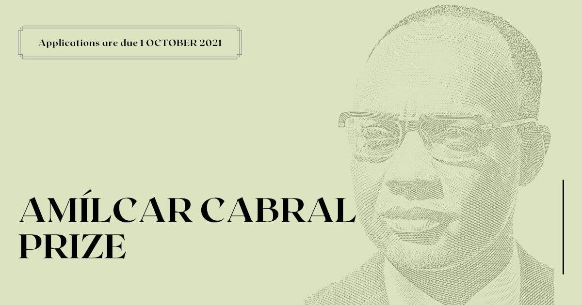 Image illustrating the Amílcar Cabral Prize 2021