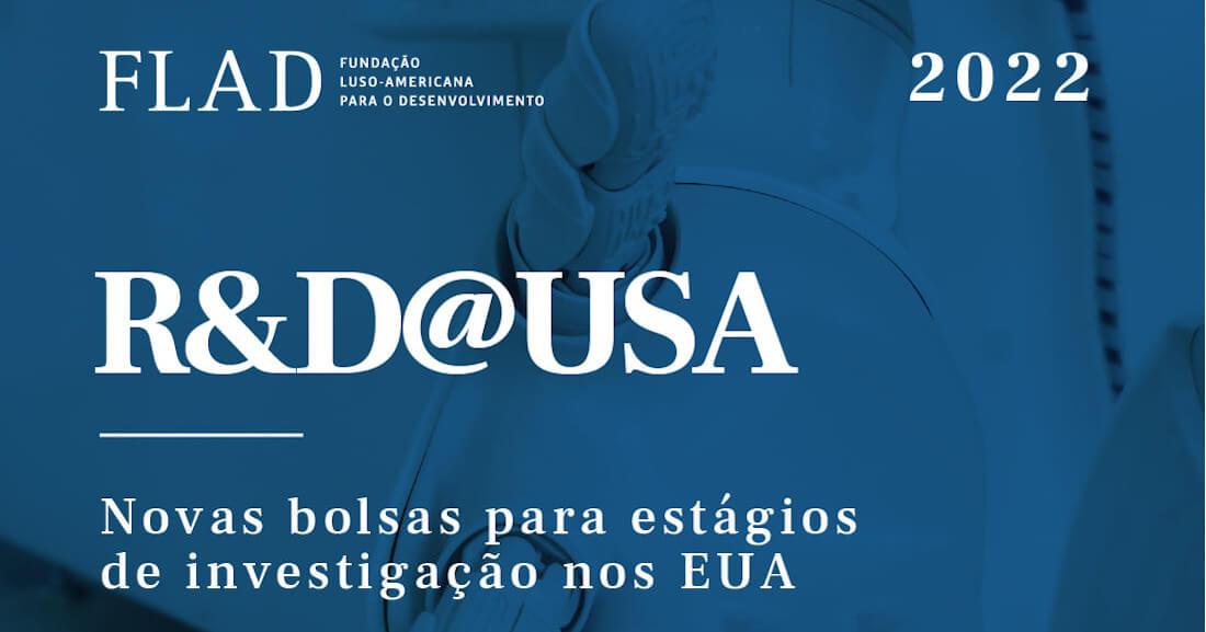 Imagem ilustrativa das bolsas para estágios de investigação nos EUA atribuídas pela FLAD