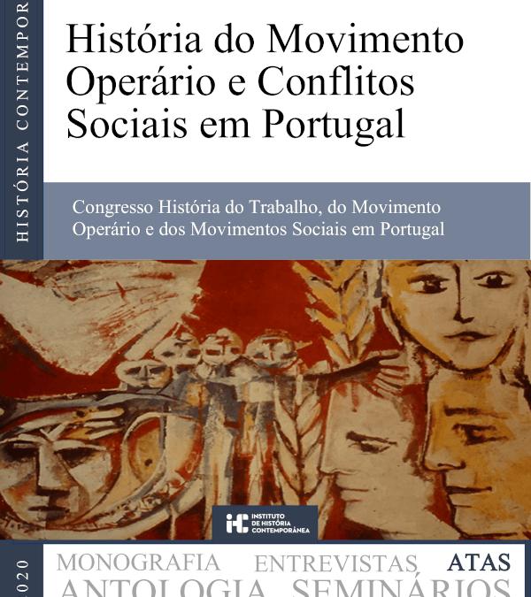 História do Movimento Operário e Conflitos Sociais em Portugal