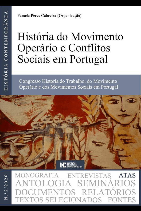 """Capa do livro """"História do Movimento Operário e Conflitos Sociais em Portugal"""""""