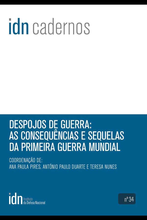 """Capa do livro """"Despojos de Guerra"""", coordenado por Ana Paula Pires, António Paulo Duarte e Teresa Nunes"""
