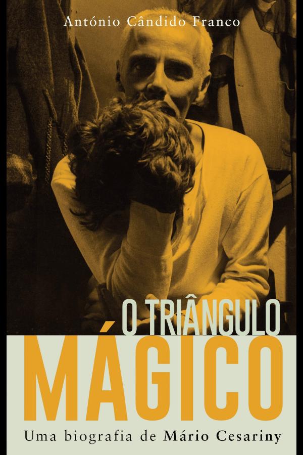 """Capa do livro """"O Triângulo Mágico"""", de António Cândido Franco"""