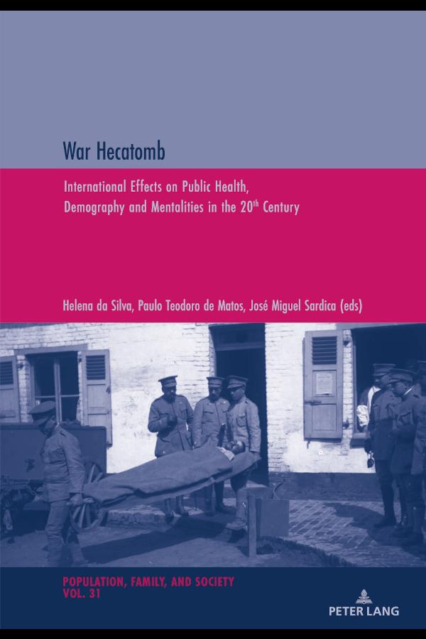 "Capa do livro ""War Hecatomb"", editado por Helena da Silva, Paulo de Teodoro Matos e José Miguel Sardica"