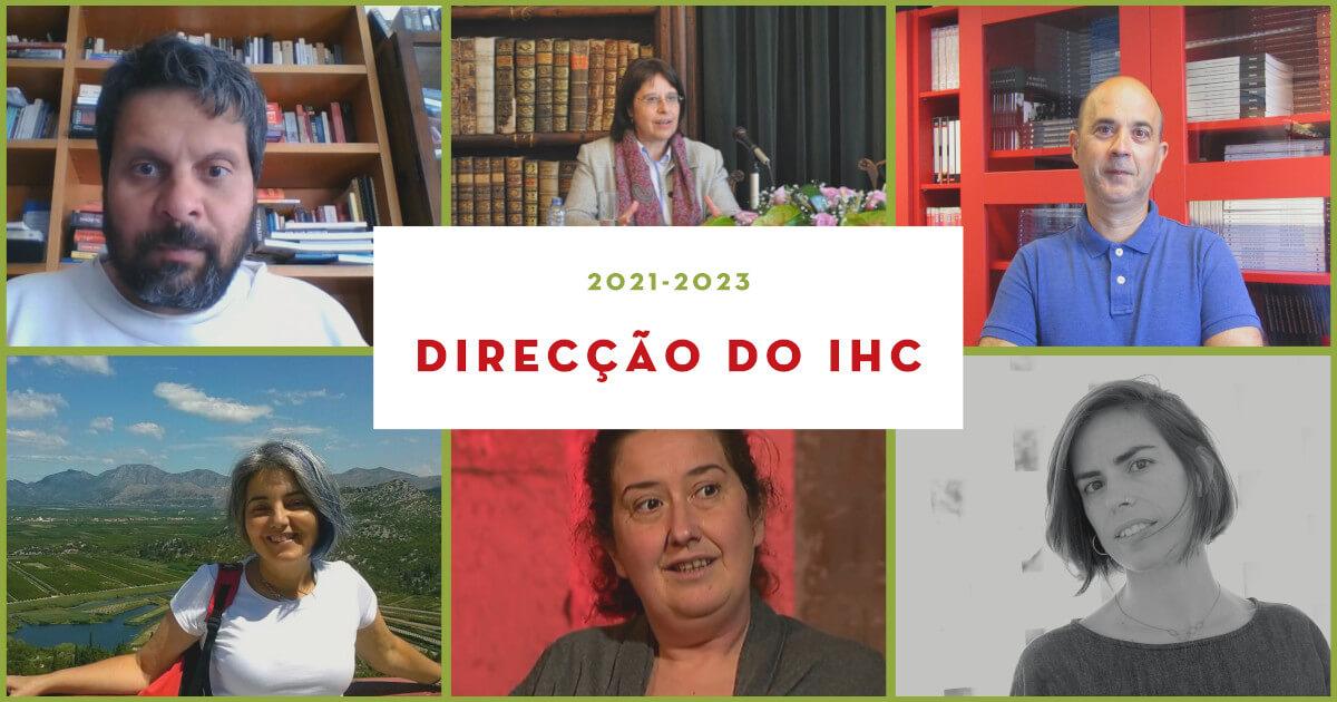 Fotografias dos membros da Direcção do IHC 2021-2023