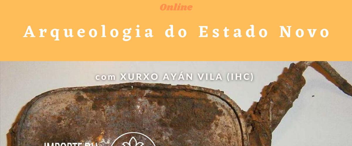 Detalhe do cartaz do curso