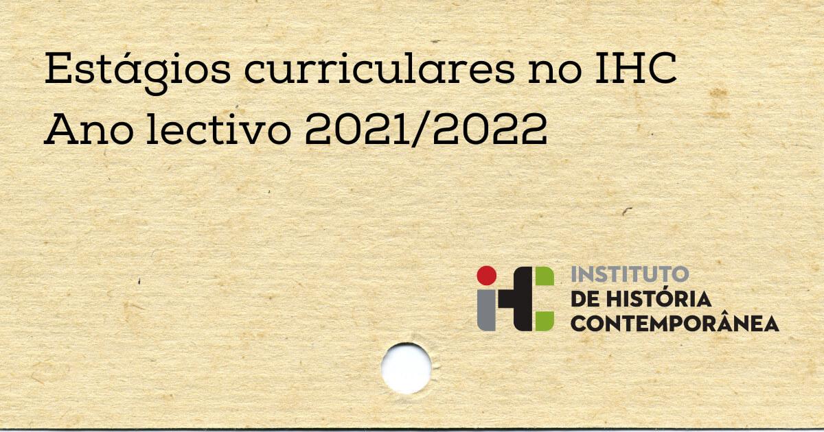 Imagem ilustrativa da notícia sobre estágios curriculares no IHC