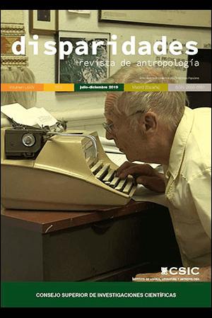 Capa do volume 74 da revista Disparidades